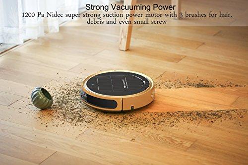 Proscenic 790T WLAN Staubsauger Roboter (2 in 1: Saugroboter & Wischroboter), Selbstaufladung, visuelle Karte, Alexa-Sprachsteuerung, Hohe Saugkraft für Tierhaare und Allergene, Hartböden und Teppiche