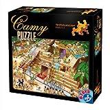 Puzzle 225 Teile - Camy Puzzle : Cartoon, Pyramiden in Ägypten