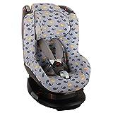 Bezug Maxi-Cosi Tobi Kindersitz  Grau Wale  Schweißabsorbierend und weich für Ihr Kind  Schützt vor Verschleiß und Abnutzung  Öko-Tex 100 Baumwolle