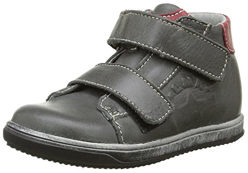 Little Mary Apic, Sneakers Hautes Garçon Gris (Sauvage Gris Fonce)