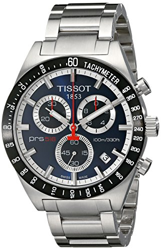 T0444172104100 Tissot Men's PRS516 Stainless Steel Chronograph Watch