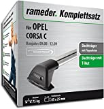Rameder Komplettsatz, Dachträger Flush für OPEL Corsa C (120358-04650-3)