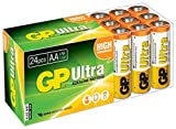 Picture of GP Batteries Ultra High Performance AA Battery - Chrome/Black/Red (Pack of 24)