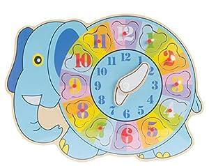 Item Reloj Encajes de Madera JE-145069