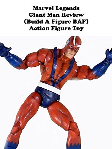 Review: Marvel Legends Giant Man Review (Build A Figure BAF) Action Figure Toy [OV]