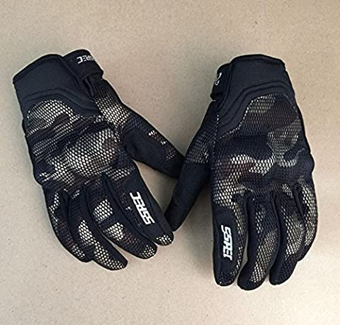 Downhill Gloves Fox Motorcycle / Bicycle Fitness Men's Ladies Fur and Leather , brown , xl