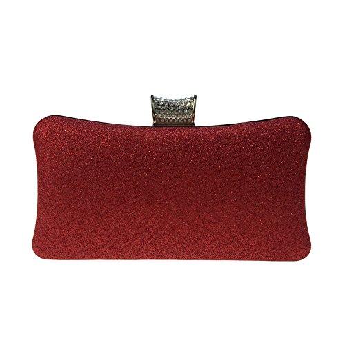 kleine Tasche Tasche Abend Perlen Leder Diamanten Diamant mesh Golden Kette Yanbao weiblichen 6v1Yntfxwq
