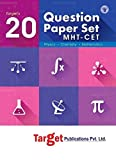 MHT CET - 20 Question Papers Set (Physics, Chemistry, Mathematics)