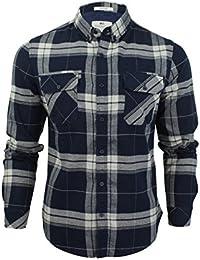 Chemise à carreaux à manches longues 'Mitty' par Crosshatch pour homme