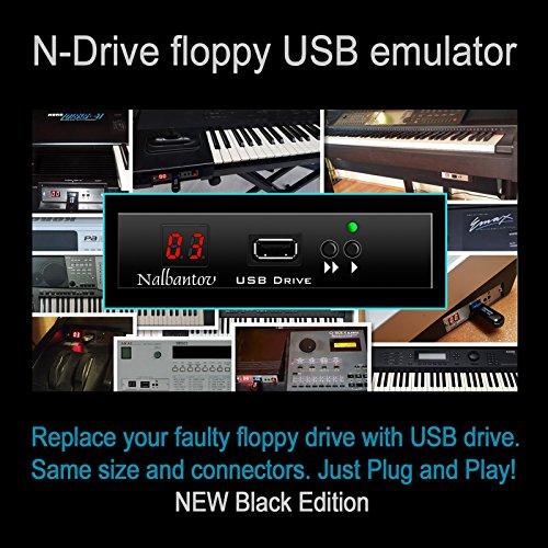 Nalbantov USB-Emulator für Diskettenlaufwerke Yamaha Tyros 1, PSR 340/350/450/540/550/630/640/730/740/1000/1100/2000/2100