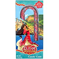 Disney Elena of Avalor Fruit Punch Flavoured Candy Cane (Pack of 2)