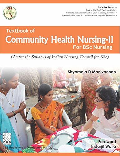 TEXTBOOK OF COMMUNITY HEALTH NURSING II FOR BSC NURSING (PB 2018)