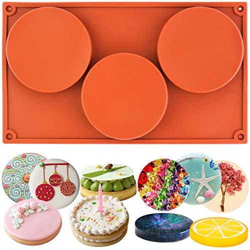 Musykrafties 3-cavity redondas grandes Disco Caramelo