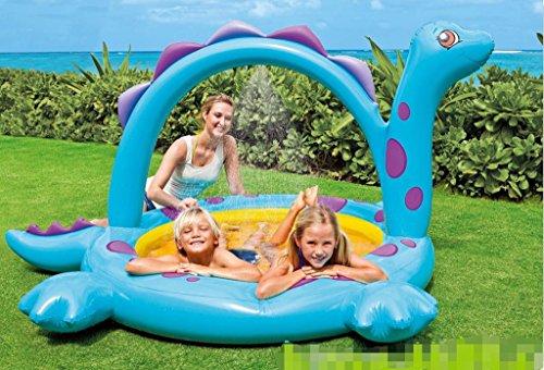 Der Pool zurück die Dinosaurier, Spritzen, Wasser, aufblasbare Schwimmbecken, Kinderbecken, Schwimmbad
