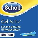 Scholl Gel Activ Einlegesohlen Flache Schuhe, 1 Paar