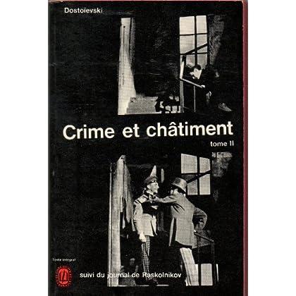 Crime et châtiment - tome 2