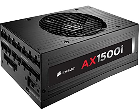 Corsair CP-9020057-EU Professional Series AX1500i ATX/EPS Modulaire Complet 80 Plus Titanium 1500W Digital Alimentation PC