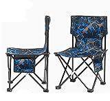 mkkwp Outdoor-Möbel Angeln Stuhl Camping Klappstuhl mit Oxford Tuch Für Garten Strand Stuhl Rückenlehne Picknick Für Familienreisen