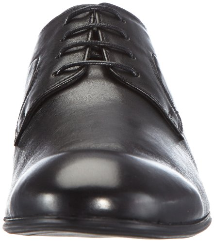 Hudson London Lamond D704010 Herren Schnürhalbschuhe Schwarz (Black)