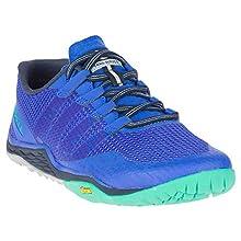 Merrell Women's Trail Glove 5 Fitness Shoes, Blue (Dazzle), 5 (38 EU)