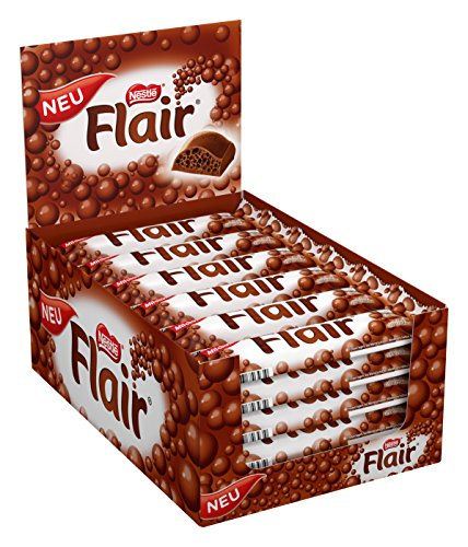 Nestlé Flair Schokoriegel, 35er Pack (35 x 24 g)