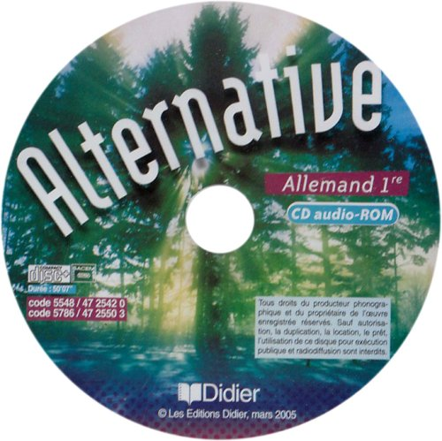 Allemand 1e Alternative : CD audio-ROM par Wolf Halberstadt