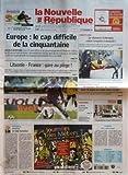 Telecharger Livres NOUVELLE REPUBLIQUE LA N 18969 du 24 03 2007 EUROPE LE CAP DIFFICILE DE LA CINQUANTAINE LITUANIE FRANCE GARE AU PIEGE EDITORIAL LE SIDA BANALISE PAR JEAN PIERRE BEL INDRE ET LOIRE LE CHASSEUR D ALLERGIES MENE L ENQUETE A DOMICILE ASSISES D INDRE ET LOIRE BRAQUAGE DIX ANS DE RECLUSION POUR LE PAPY AU CASIER BIEN REMPLI TOURS NORD LA ROUE TOURANGELLE ARRIVE CANDIDE BEAU COMME L ANTIQUE SOMMAIRE LE FAIT DU JOUR FAITS DE SOCIETE GRAND TOURS AGGLOMERATION EST (PDF,EPUB,MOBI) gratuits en Francaise