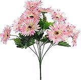 #7: Fourwalls Gerbera Bunch (10 Flowers, Pink)