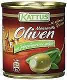 Produkt-Bild: Kattus Spanische grüne Oliven, mit Jalapeñocreme gefüllt, 8er Pack (8 x 200 g)