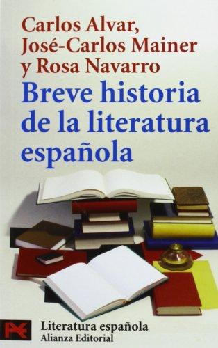 Breve Historia Da La Literatura Espanola (libro De Bolsillo (alianza Editorial))