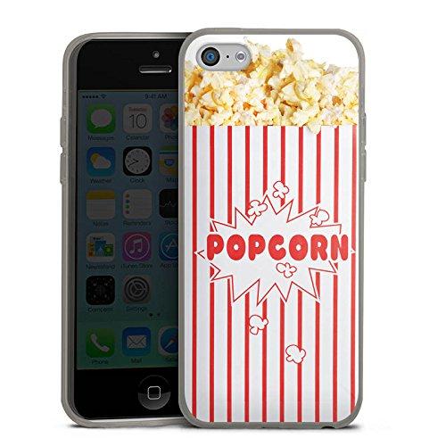 Slim Case Silikon Hülle Ultra Dünn Schutzhülle für Apple iPhone 5c Popcorn Kino Design - Iphone 5c Case-kino