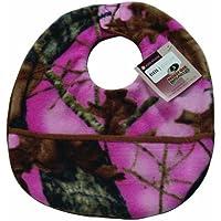 Scene Weaver Mossy Oak Camouflage Baby Bib, Break-Up Pink by Pickles