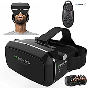 avec contr leur bluetooth seguro set 360 degr s visionnage immersif r alit virtuelle lunettes. Black Bedroom Furniture Sets. Home Design Ideas