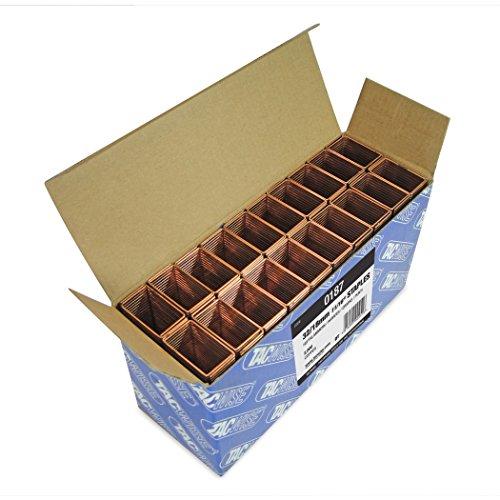 Tacwise 0187 Boîte de 2000 Agrafes galvanisées 18 mm Type 32 - Bronze