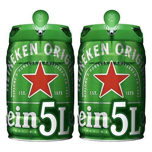 Heineken Cerveza, 2 x 5L