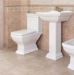 waschbecken keramik retro waschtisch inkl s ule stand wc retro komplett set. Black Bedroom Furniture Sets. Home Design Ideas