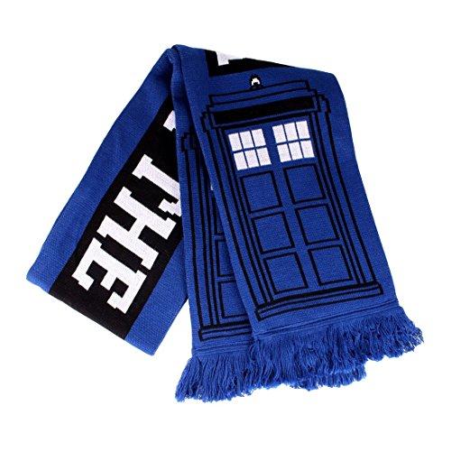(Doctor Who Schal Tardis Police Box 150x19cm zur Serie blau)