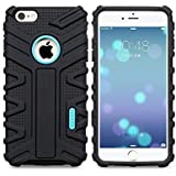 """HOCO TRANSFORMER SERIES MOVING SHOCK-PROOF FLEXIBLE SILICON BACK CASE COVER BLACK FOR IPHONE 6 6S PLUS 5.5 """""""