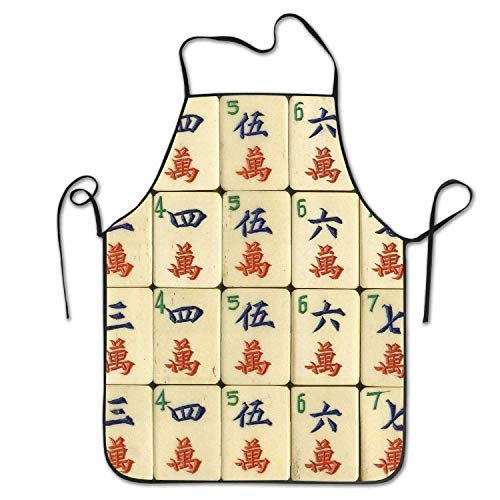 Unique China Mahjong Background Women's Men's Funny Creative Print Cooking - China Lady Kostüm
