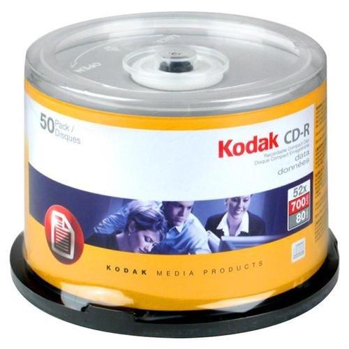 Kodak 8530040 Picture CD Rohlinge (50 Stück) Kodak-cd