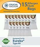 18Ersatz für Eureka RR Papier Staubbeutel Passend für Ultra & Boss Smart, Kompatibel mit Teil # 61115, 61115A & 61115B, von Think Crucial
