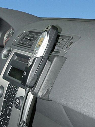 kuda-console-de-tlphone-lhd-pour-volvo-s40-v50-partir-de-4-04-c70-partir-de-5-06-cuir-vritable-noir
