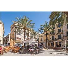 Impresión en metacrilato 120 x 80 cm: Placa Llotja in Palma de Mallorca de Ingo Gerlach