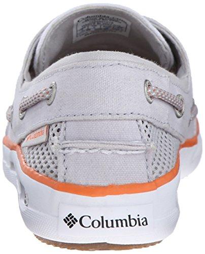 Columbia Vulc N Vent Boat Canvas, Chaussures Bateau Femme Gris (Cool Grey/Jupiter)