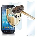 MoEx 2x OneFlow 9H Panzerfolie für Samsung Galaxy S4 Panzerglas Display Glasfolie [Tempered Glass] Screen protector Glas Displayschutz-Folie für Samsung Galaxy S4/S IV Schutzfolie
