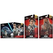 Disney Infinity 3.0 Star Wars: Rise Against The Empire Set: Han+Chewy+Luke+Leia