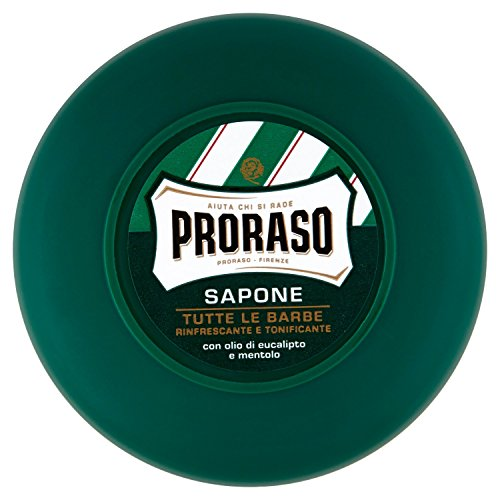 Jabón Proraso con mentol y eucalipto 75 ml
