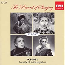 The Record Of Singing 1953-2007