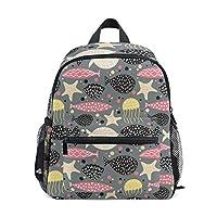 Whale Jellyfish Childrens School Bag Kid