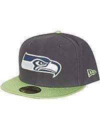 New Era Herren Caps / Fitted Cap NFL Ballistic Visor Seattle Seahawks